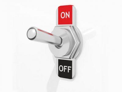 iPhoneのボタンを押せない時に電源をオン/オフする